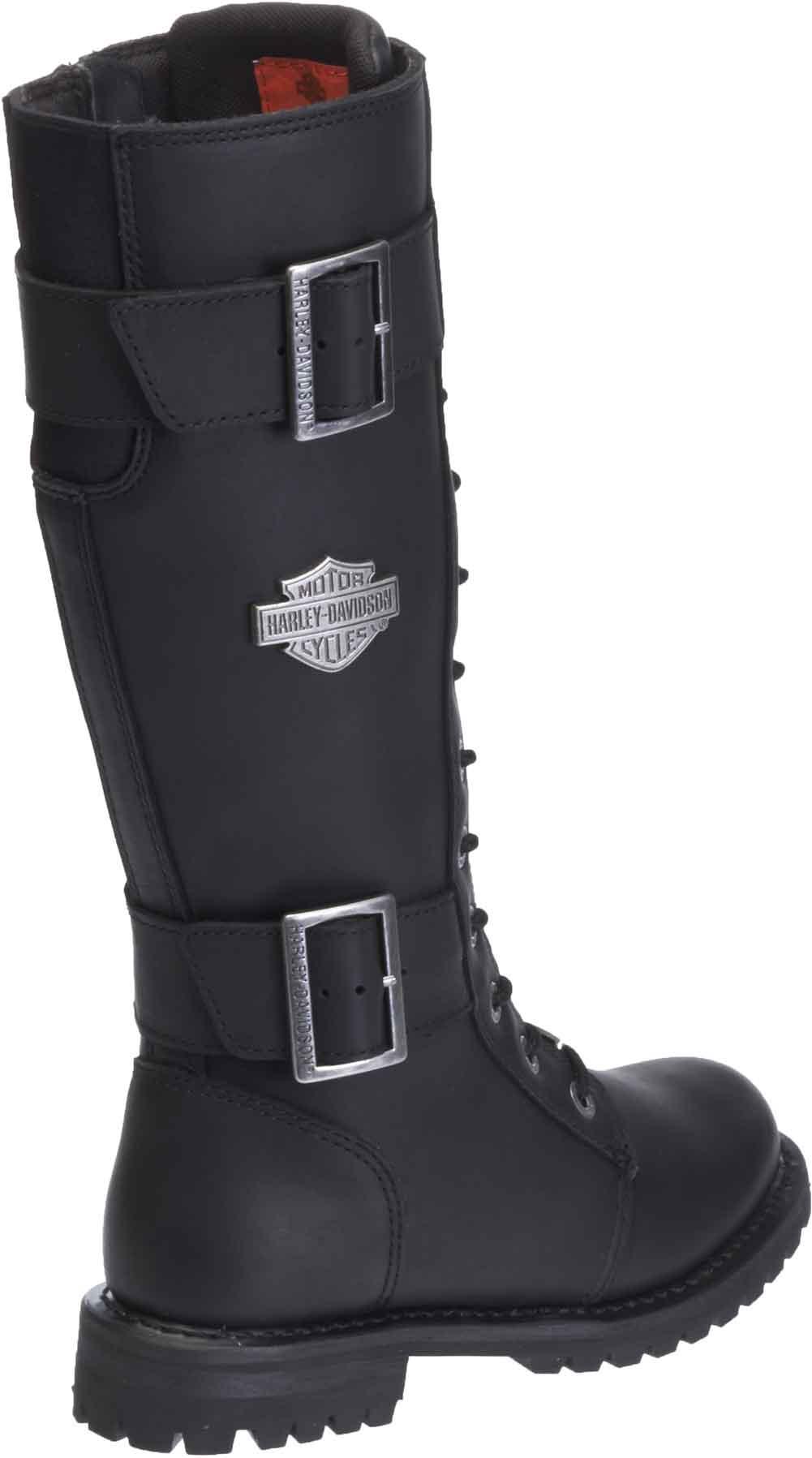 Harley-Davidson Womens Belhaven Knee-Hi Black or Brown Leather Boots D87082