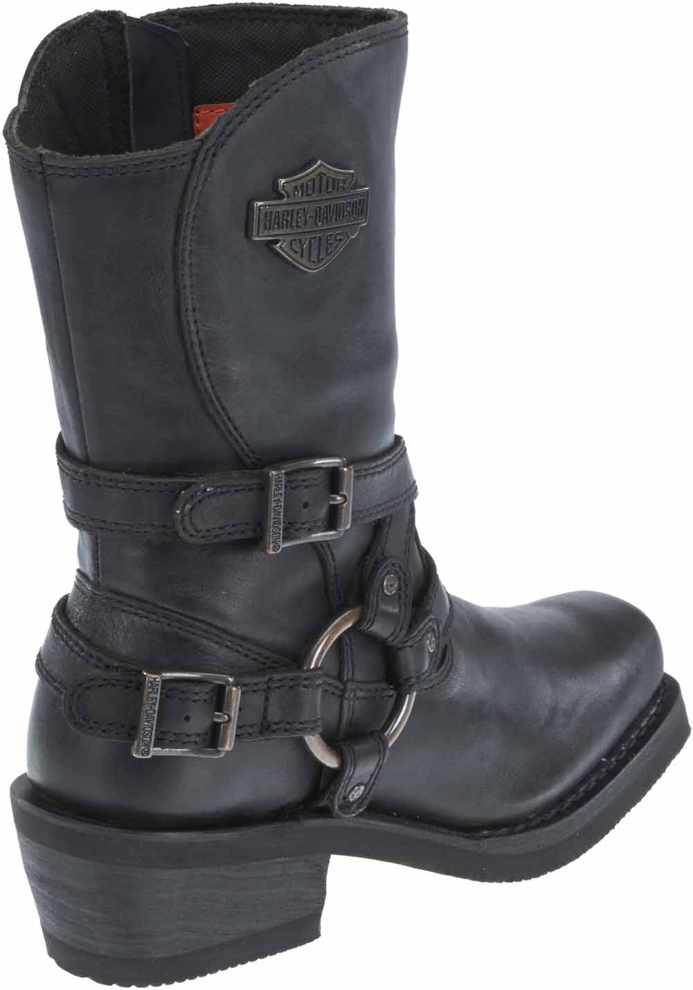 Harley Davidson Women S Ingleside 8 5 Motorcycle Boots Black Or
