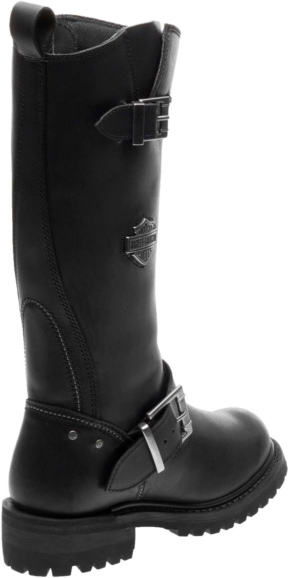 Harley-Davidson® Women/'s Chalmers Black Leather Motorcycle Riding Boots D87154