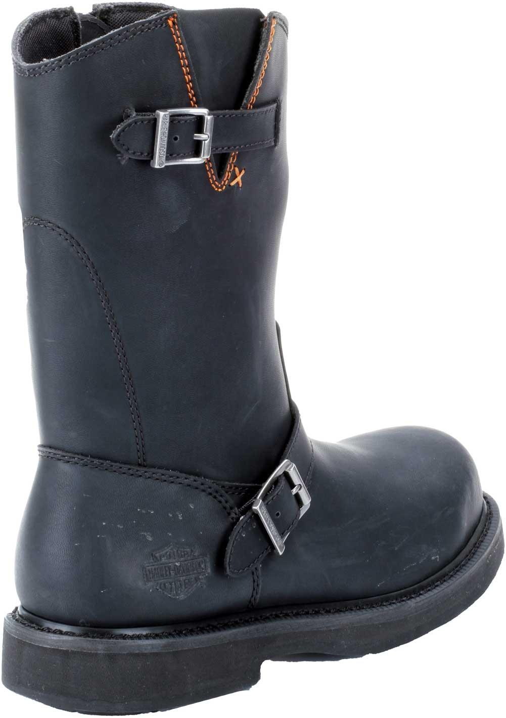 af2f1b768e1 Details about Harley-Davidson Men's Jason Steel Toe 10.25-Inch Black  Motorcycle Boots D93120