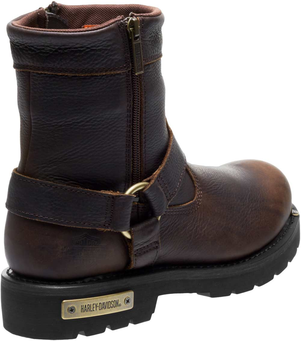 Harley Davidson Men S Cromwell Black Or Brown Motorcycle Boots