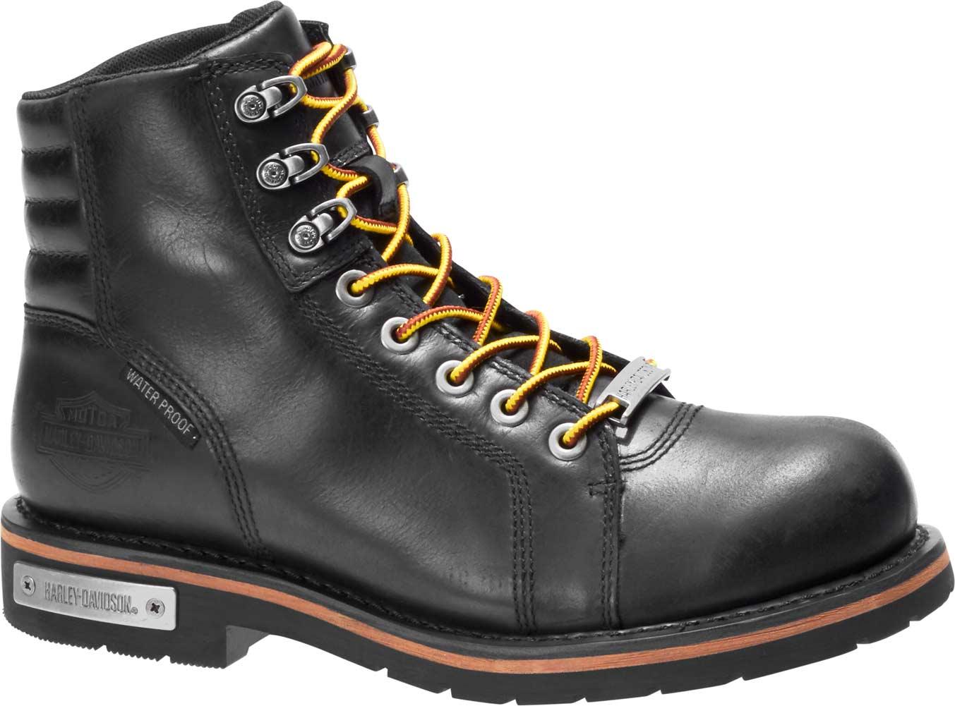 Harley-Davidson Mens Lynx Waterproof Boot,Black,7.5 M US
