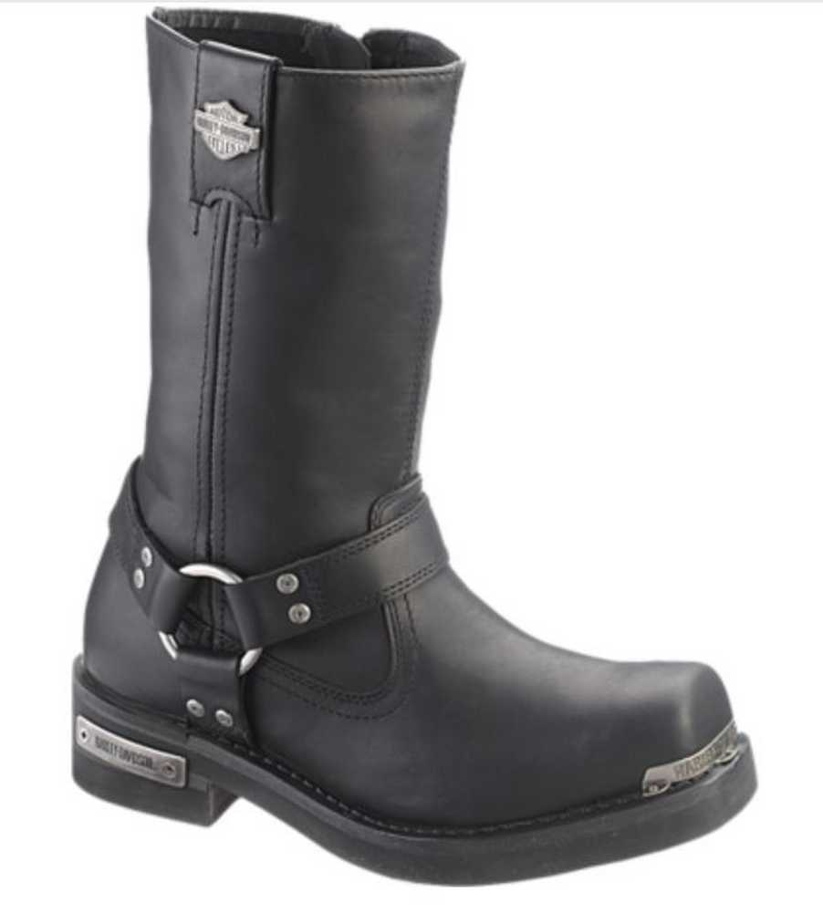 Harley Davidson Men S Landon 10 Inch Motorcycle Boots Black Brown
