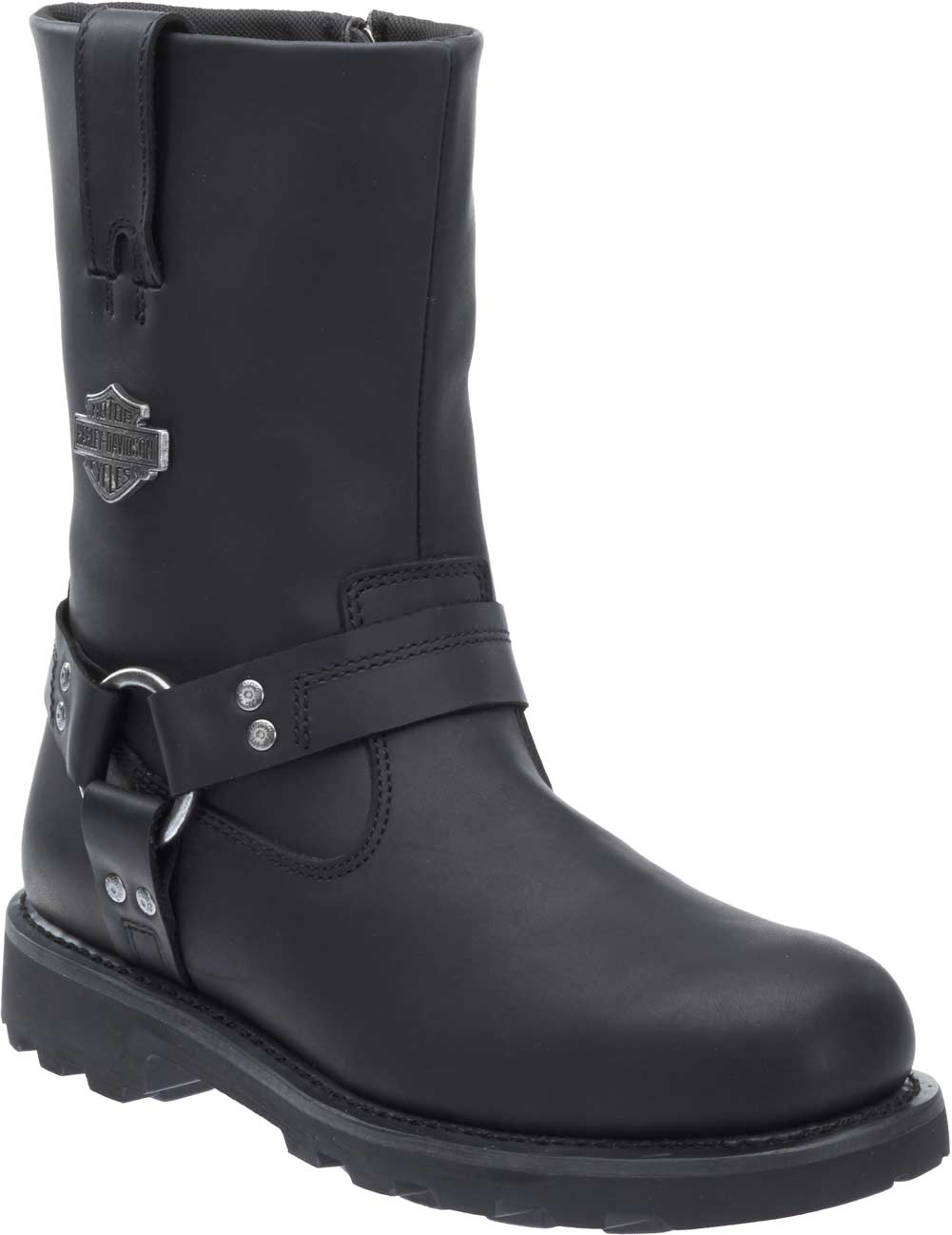 a3bf6548a16 Details about Harley-Davidson Men's Mansfield Black Performance Motorcycle  Boots D96112