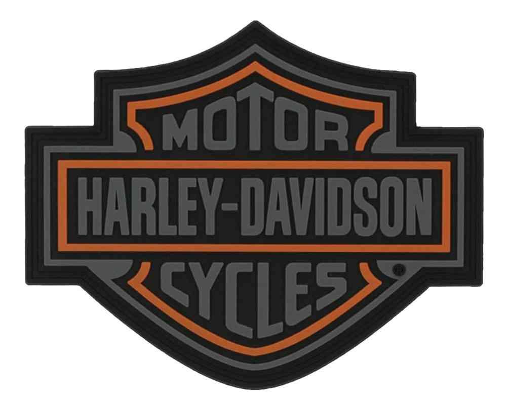 Harley Davidson Emblem: Harley-Davidson Bar & Shield Soft PVC Emblem, XS 3.25 X 2