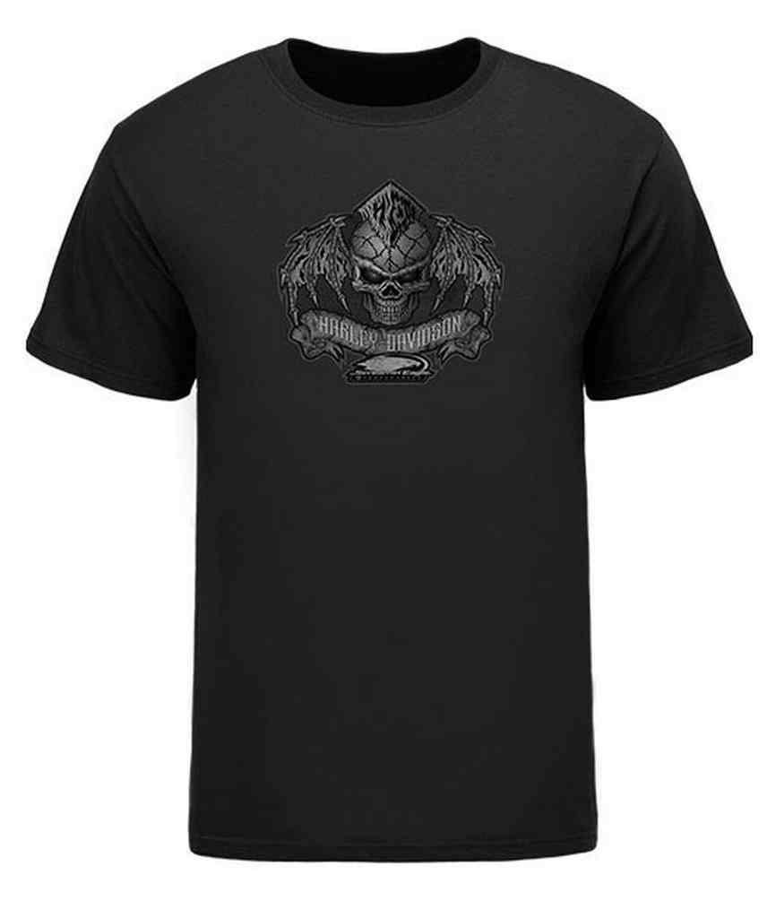 harley davidson men 39 s screamin 39 eagle mohawk wings t shirt. Black Bedroom Furniture Sets. Home Design Ideas