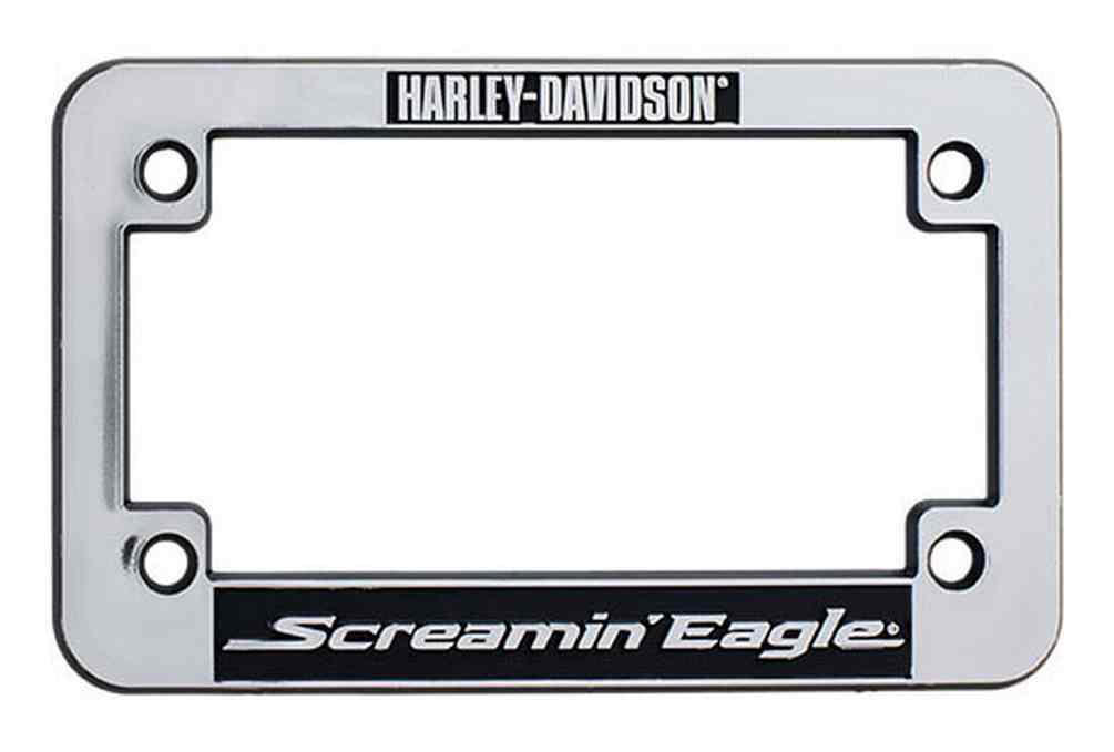harleydavidson screamin eagle motorcycle license plate