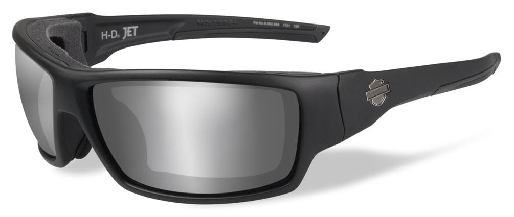 PPZ Blue Mirror Lens//Black Frame HDTNL12 Harley-Davidson Mens Tunnel Sunglasses