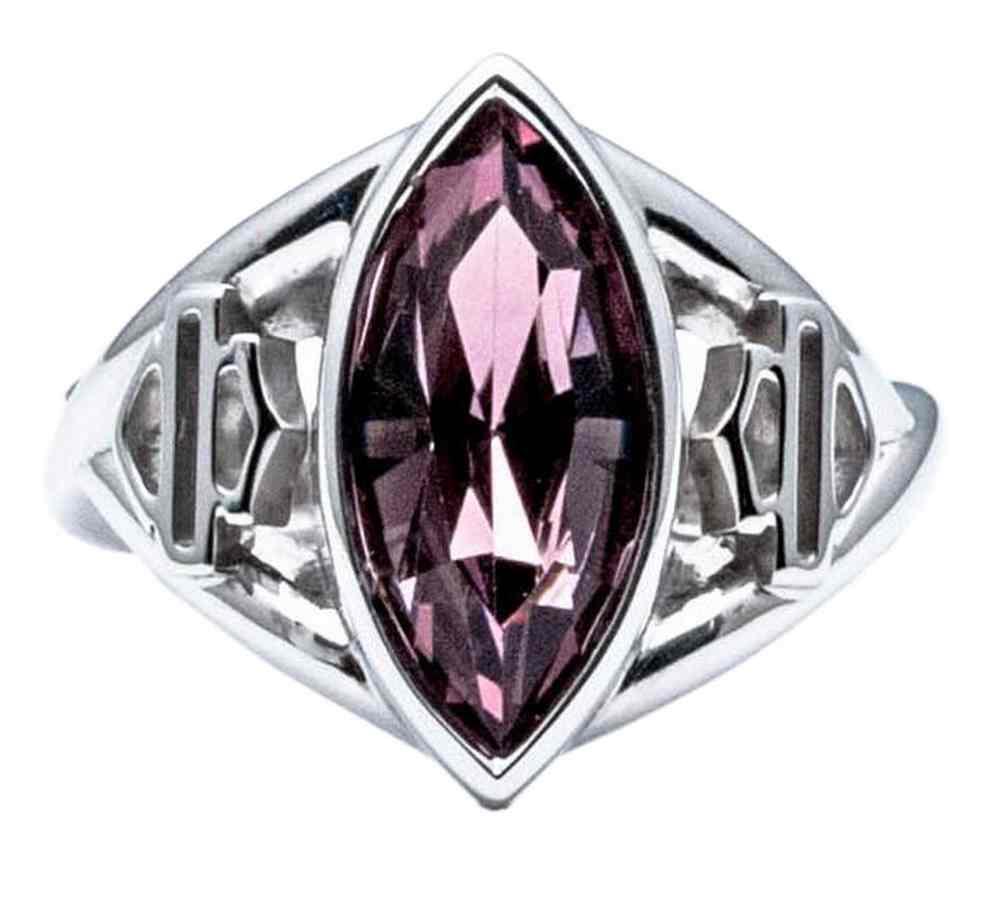 harley davidson women 39 s lavender crystal marquise ring. Black Bedroom Furniture Sets. Home Design Ideas