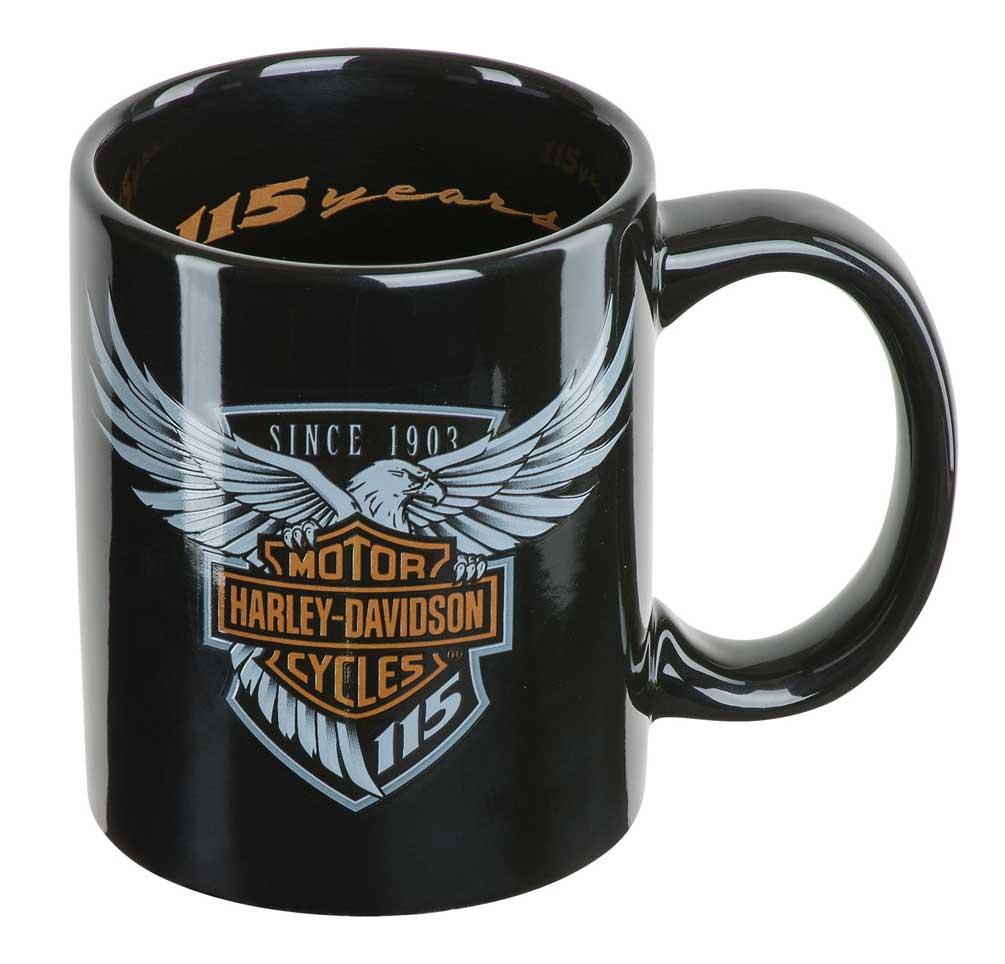 Harley-Davidson 115th Anniversary Limited Edition Coffee Mug 12 oz. HDX-98600  sc 1 st  eBay & Harley-Davidson 115th Anniversary Limited Edition Coffee Mug 12 oz ...