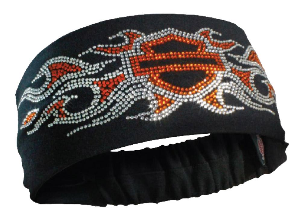 Harley Davidson Women S Studded Bar Amp Shield Flames