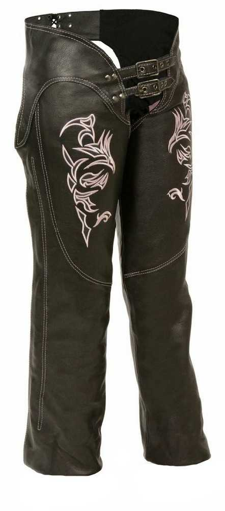 Womens Leather Motorcycle Pants