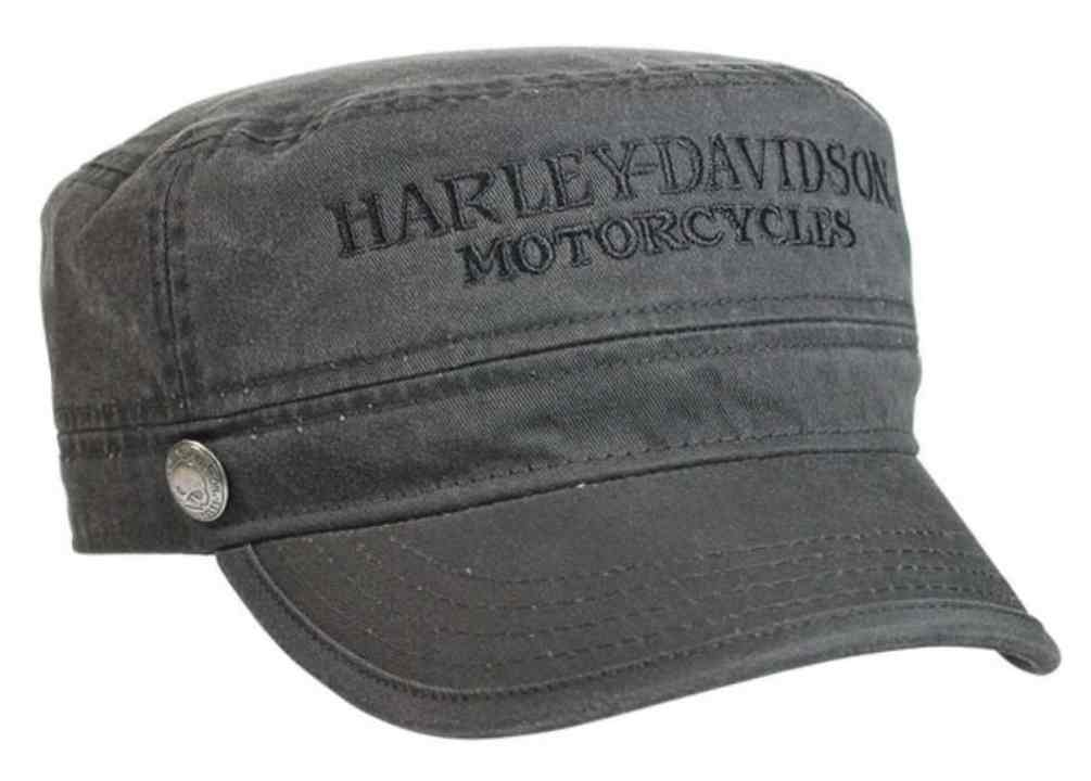 Details about Harley-Davidson Men s Hubcap Embroidered H-D Painter s Cap 2b5aa4c722d