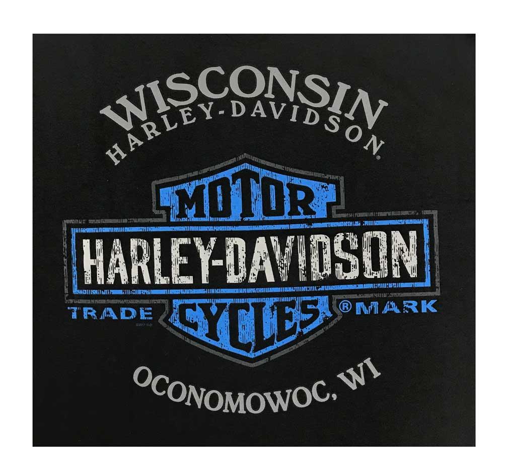 Harley-Davidson Men/'s Black Label T-Shirt Black 30293434 MC Skull Short Sleeve