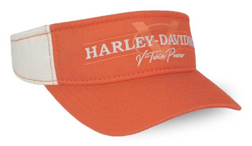 Harley Davidson Baseballcap Modell B/&S orange
