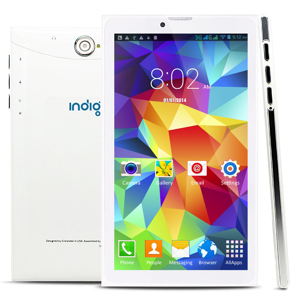 """in-1 Phablet 7"""" Android 4.4 Tablet 3G Smart Phone - GSM Unlocked AT ..."""