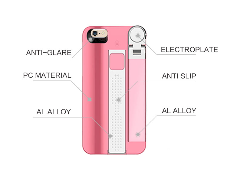 selfie stick iphone case telescoping pole bluetooth shutter for i. Black Bedroom Furniture Sets. Home Design Ideas