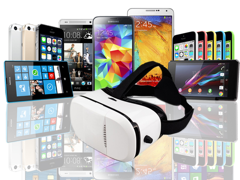 """Indigi® New VR6 Virtual Reality Viewer Android Galaxy iOS Compatible 4.5/"""" to 6/"""""""