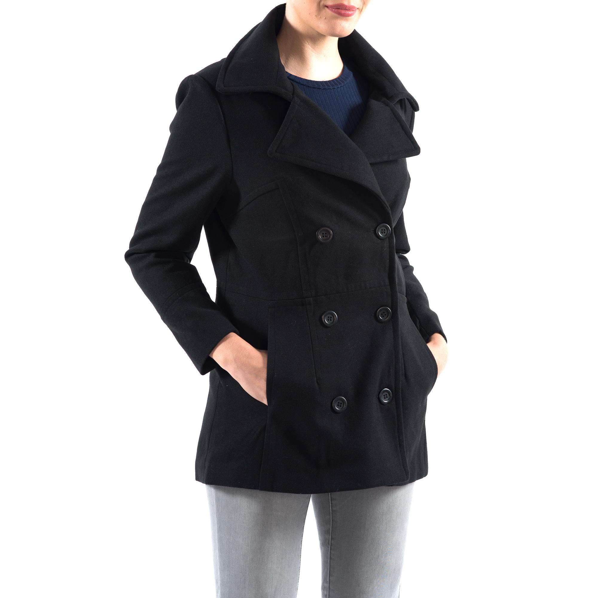 Alpine-Swiss-Emma-Womens-Peacoat-Jacket-Wool-Blazer-Double-Breasted-Overcoat-New thumbnail 17