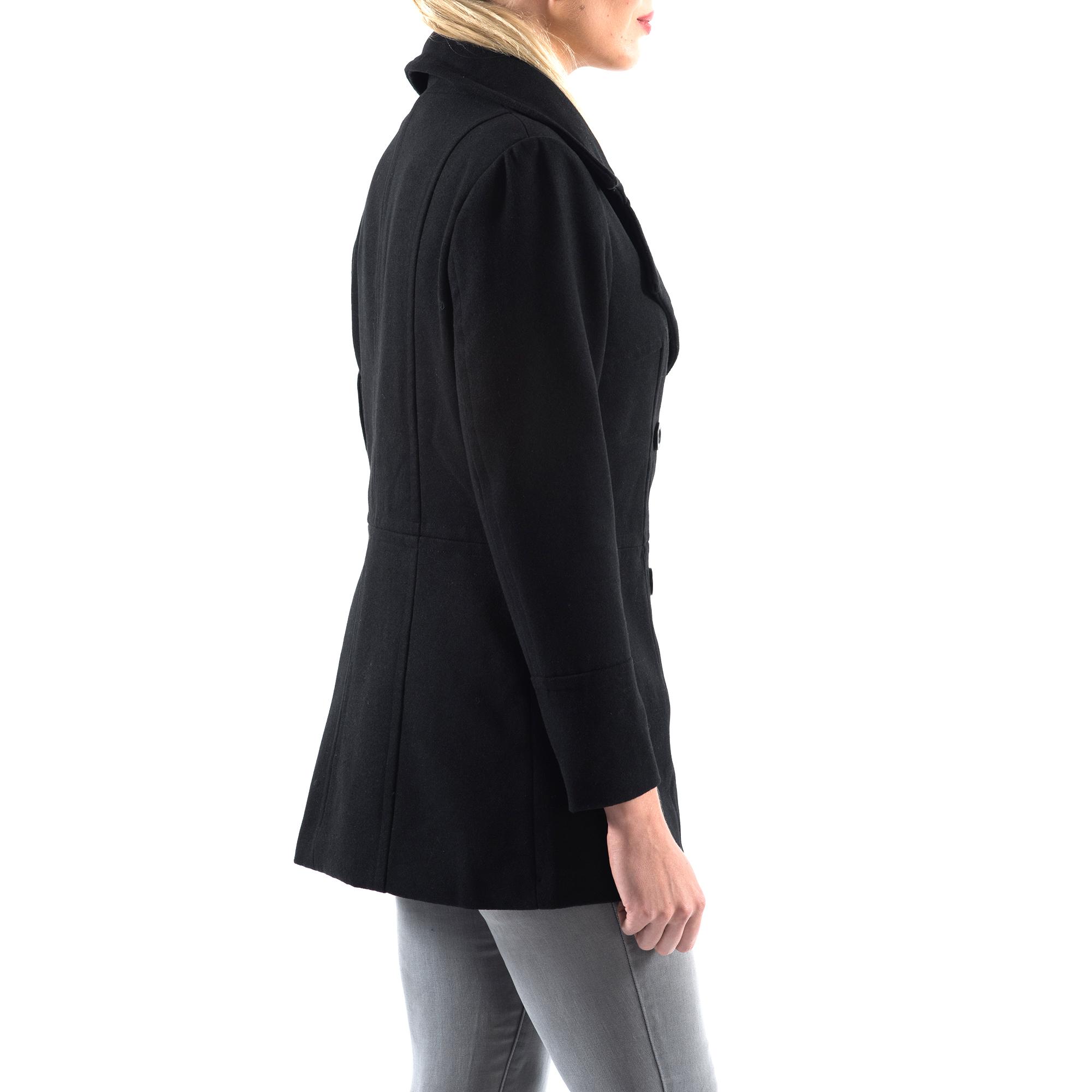 Alpine-Swiss-Emma-Womens-Peacoat-Jacket-Wool-Blazer-Double-Breasted-Overcoat-New thumbnail 20