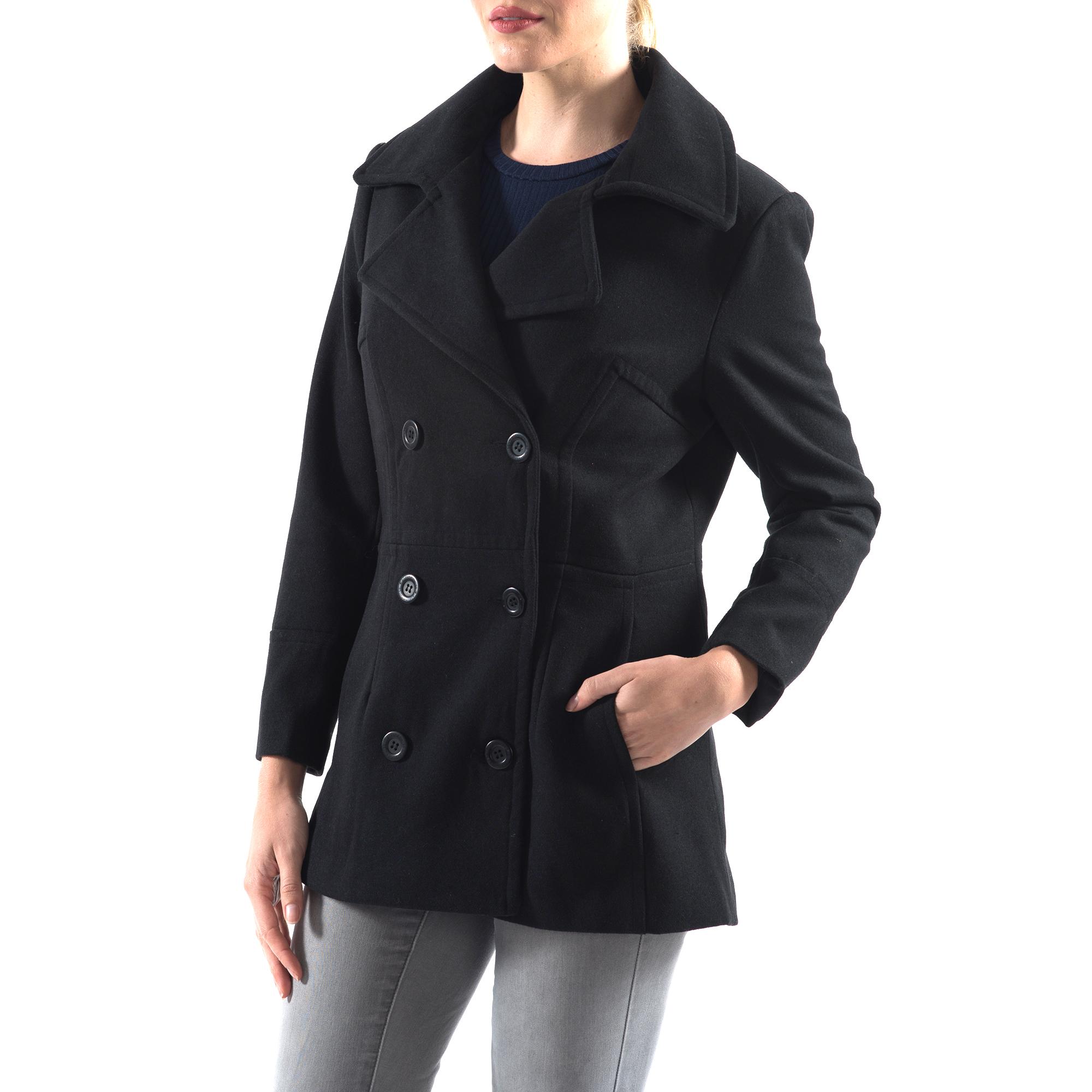 Alpine-Swiss-Emma-Womens-Peacoat-Jacket-Wool-Blazer-Double-Breasted-Overcoat-New thumbnail 16