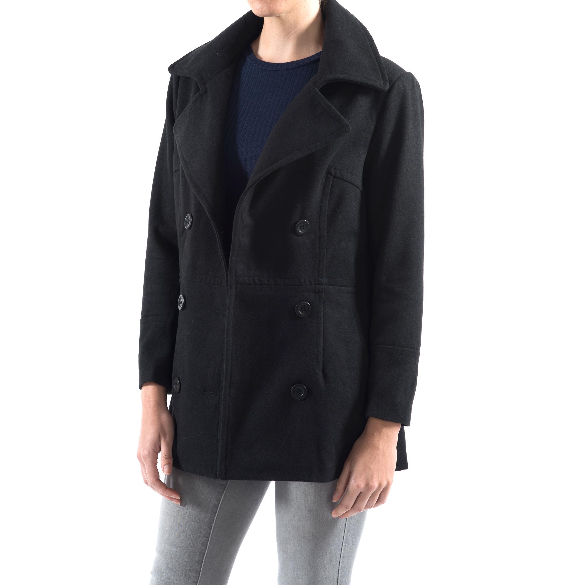 Alpine-Swiss-Emma-Womens-Peacoat-Jacket-Wool-Blazer-Double-Breasted-Overcoat-New thumbnail 18