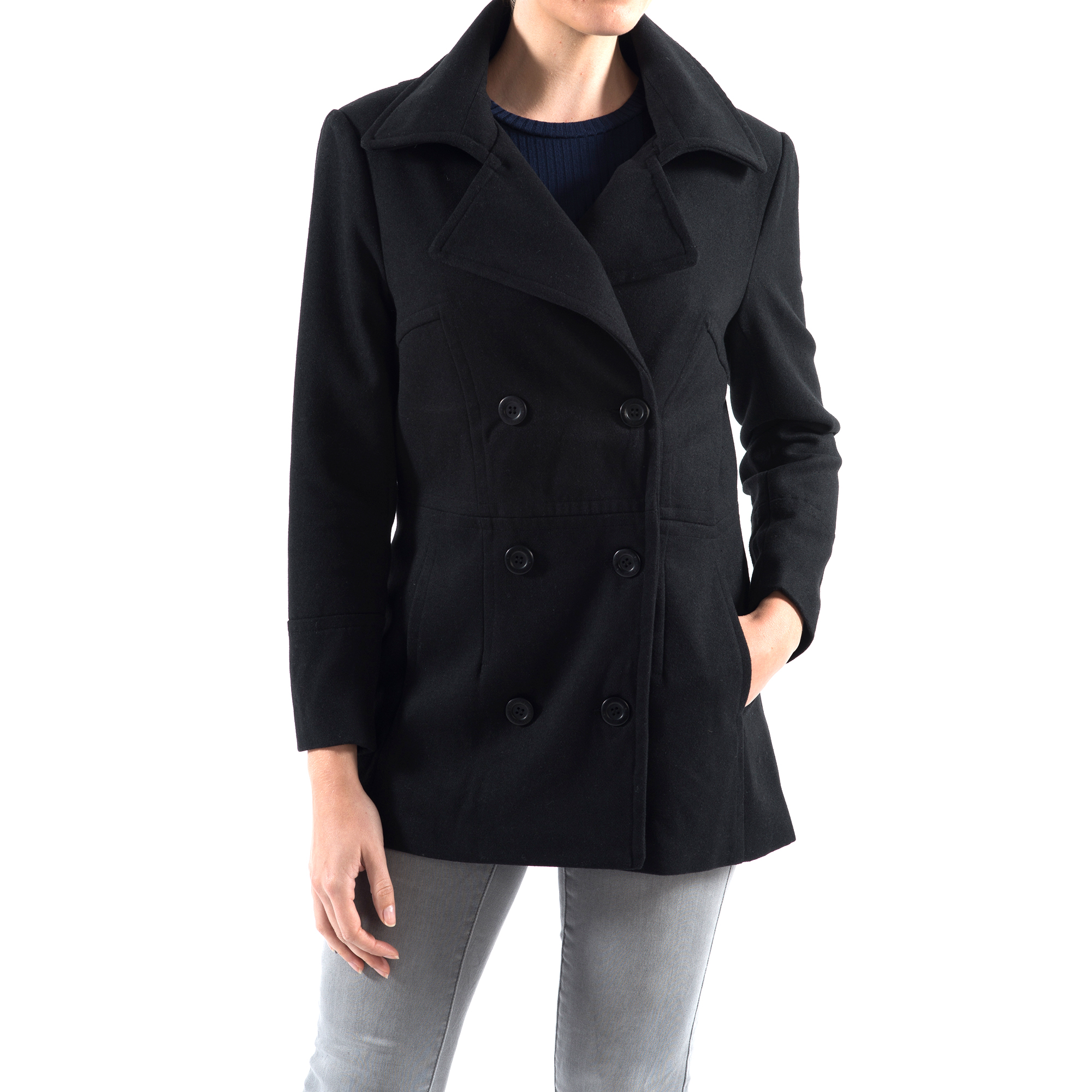 Alpine-Swiss-Emma-Womens-Peacoat-Jacket-Wool-Blazer-Double-Breasted-Overcoat-New thumbnail 21