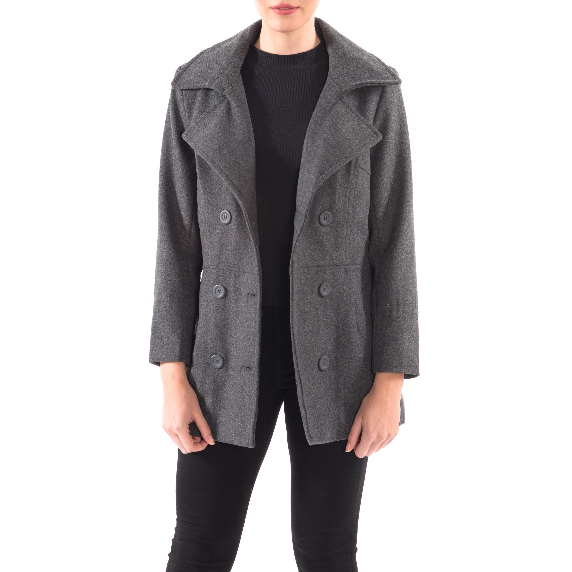 Alpine-Swiss-Emma-Womens-Peacoat-Jacket-Wool-Blazer-Double-Breasted-Overcoat-New thumbnail 37