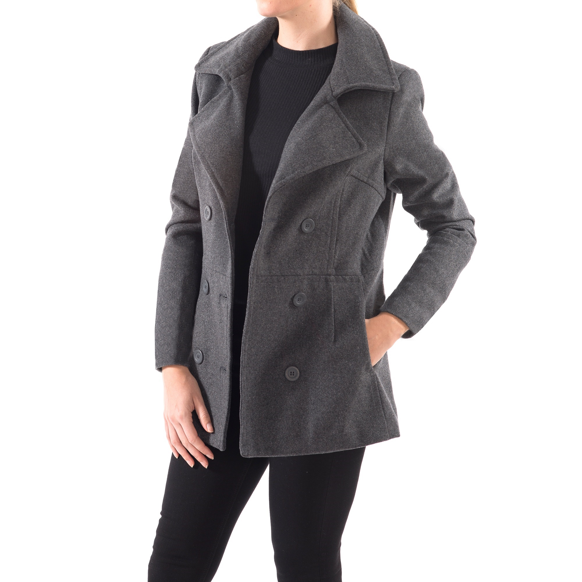 Alpine-Swiss-Emma-Womens-Peacoat-Jacket-Wool-Blazer-Double-Breasted-Overcoat-New thumbnail 40