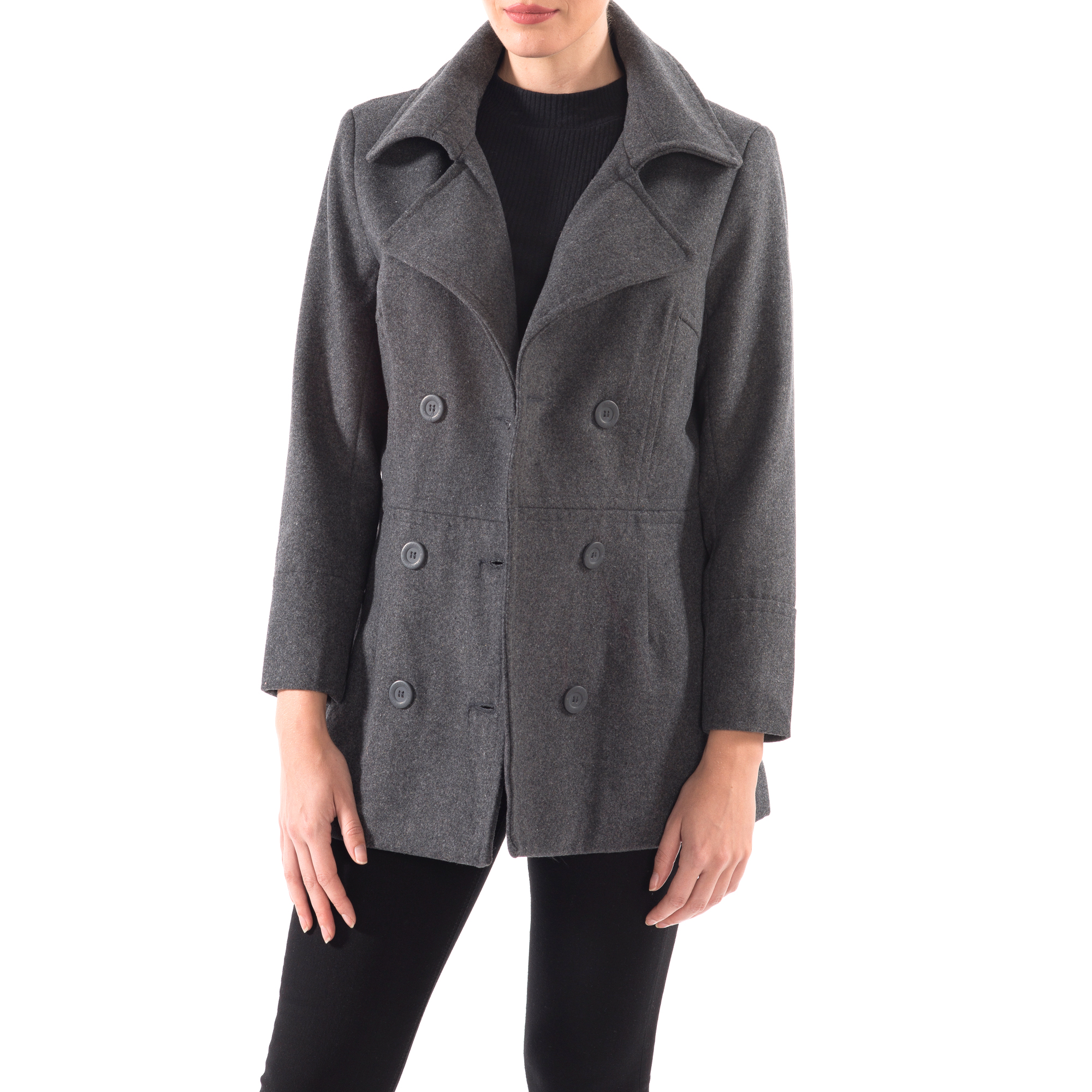Alpine-Swiss-Emma-Womens-Peacoat-Jacket-Wool-Blazer-Double-Breasted-Overcoat-New thumbnail 42