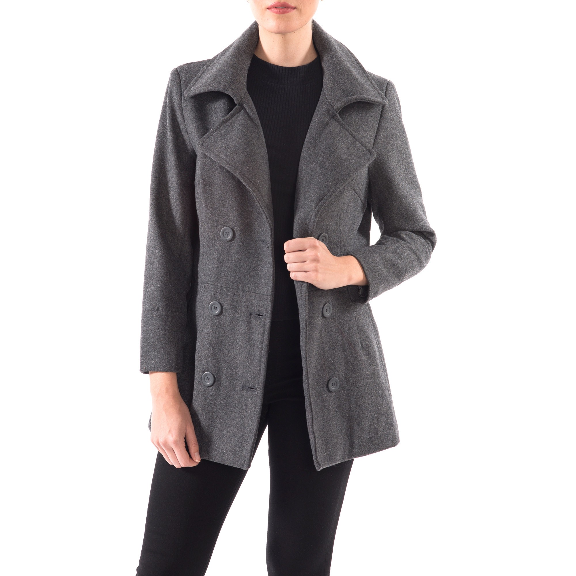 Alpine-Swiss-Emma-Womens-Peacoat-Jacket-Wool-Blazer-Double-Breasted-Overcoat-New thumbnail 39