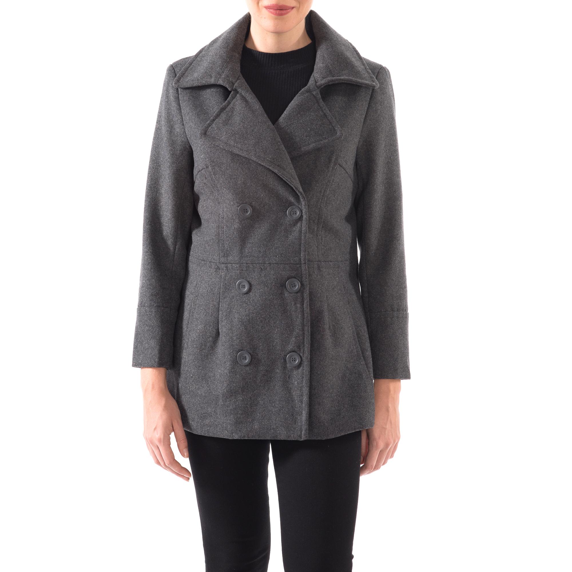Alpine-Swiss-Emma-Womens-Peacoat-Jacket-Wool-Blazer-Double-Breasted-Overcoat-New thumbnail 38