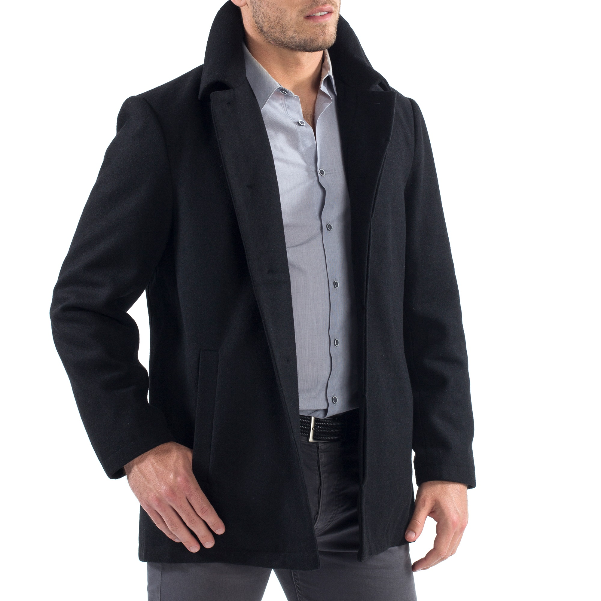 Alpine-Swiss-Vance-Mens-Jacket-Wool-Blend-Button-Up-Coat-Dress-Car-Coat-Blazer thumbnail 17