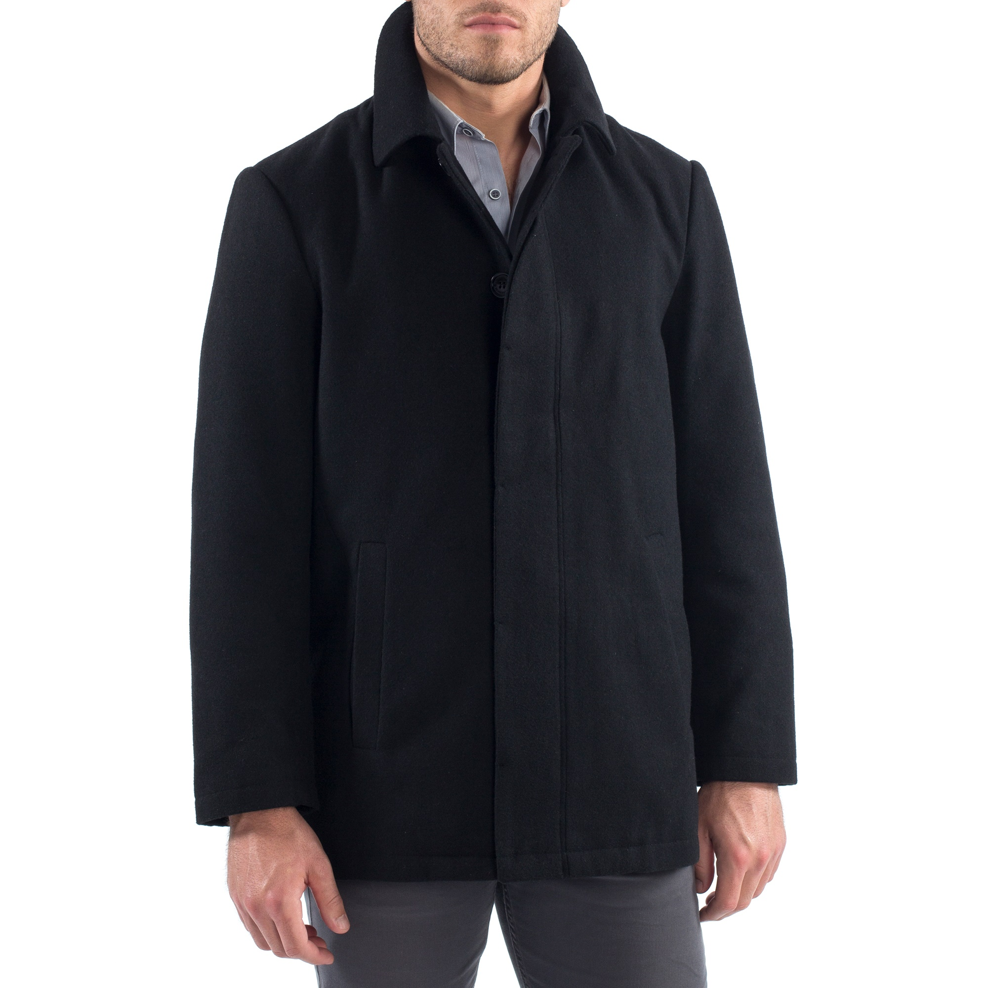 Alpine-Swiss-Vance-Mens-Jacket-Wool-Blend-Button-Up-Coat-Dress-Car-Coat-Blazer thumbnail 16