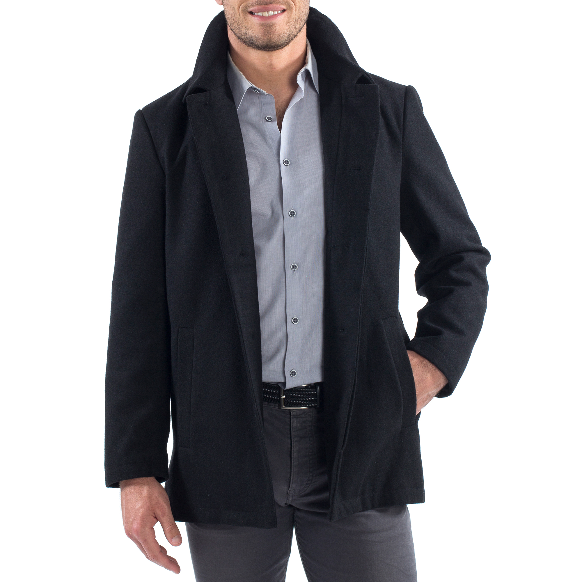 Alpine-Swiss-Vance-Mens-Jacket-Wool-Blend-Button-Up-Coat-Dress-Car-Coat-Blazer thumbnail 15