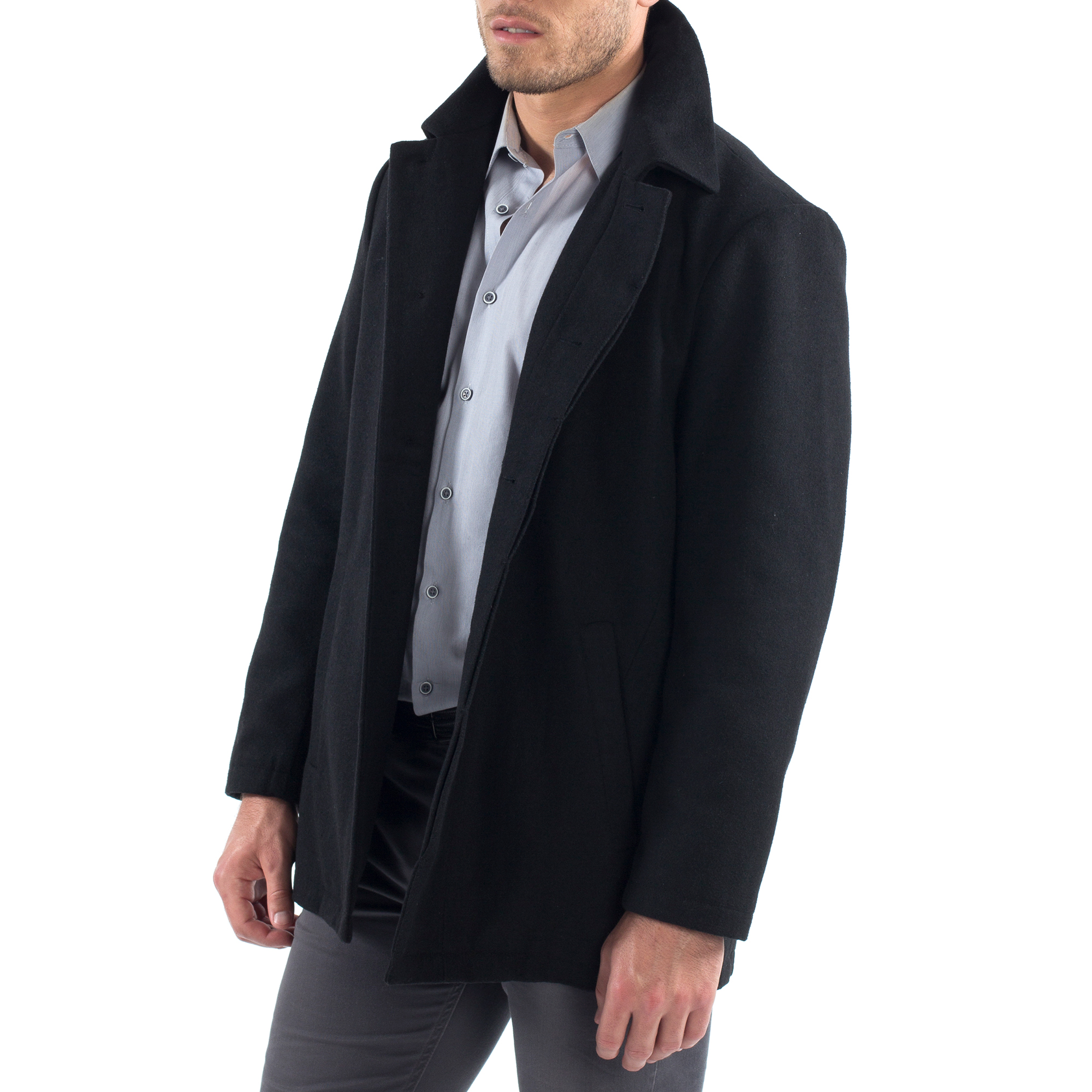 Alpine-Swiss-Vance-Mens-Jacket-Wool-Blend-Button-Up-Coat-Dress-Car-Coat-Blazer thumbnail 20
