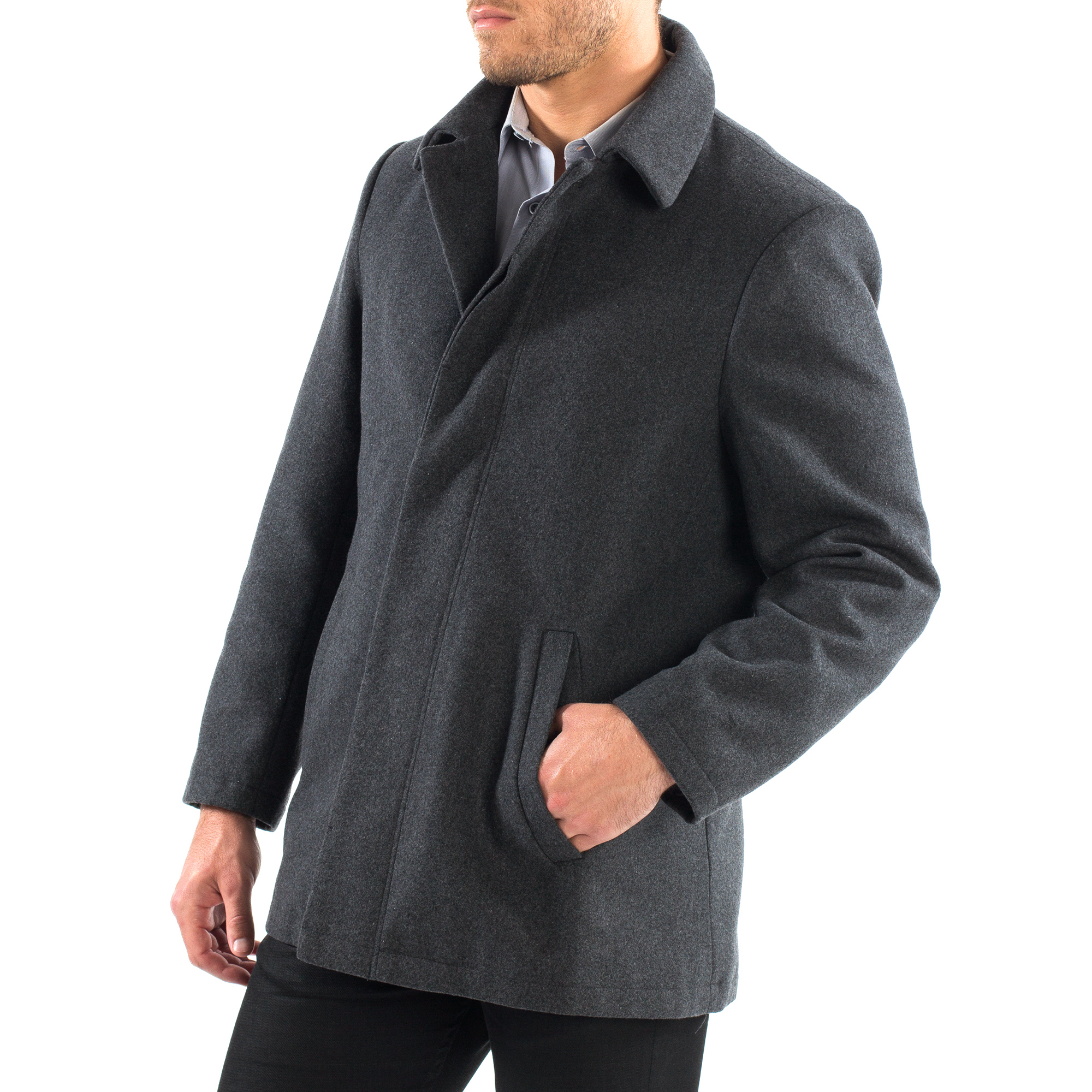 Alpine-Swiss-Vance-Mens-Jacket-Wool-Blend-Button-Up-Coat-Dress-Car-Coat-Blazer thumbnail 26