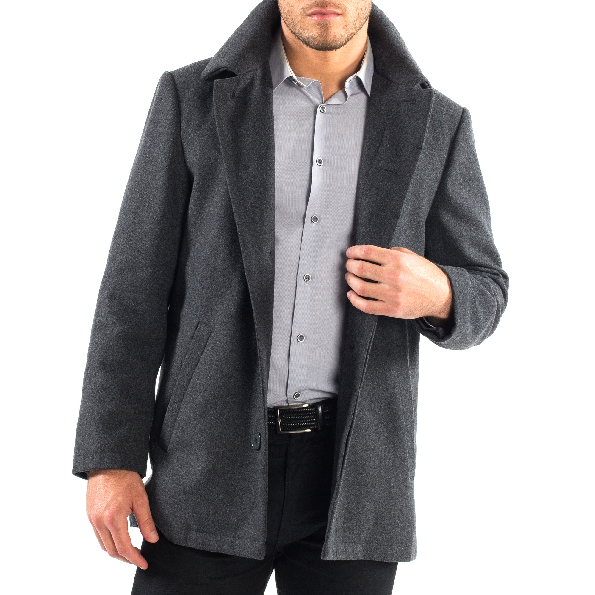 Alpine-Swiss-Vance-Mens-Jacket-Wool-Blend-Button-Up-Coat-Dress-Car-Coat-Blazer thumbnail 24