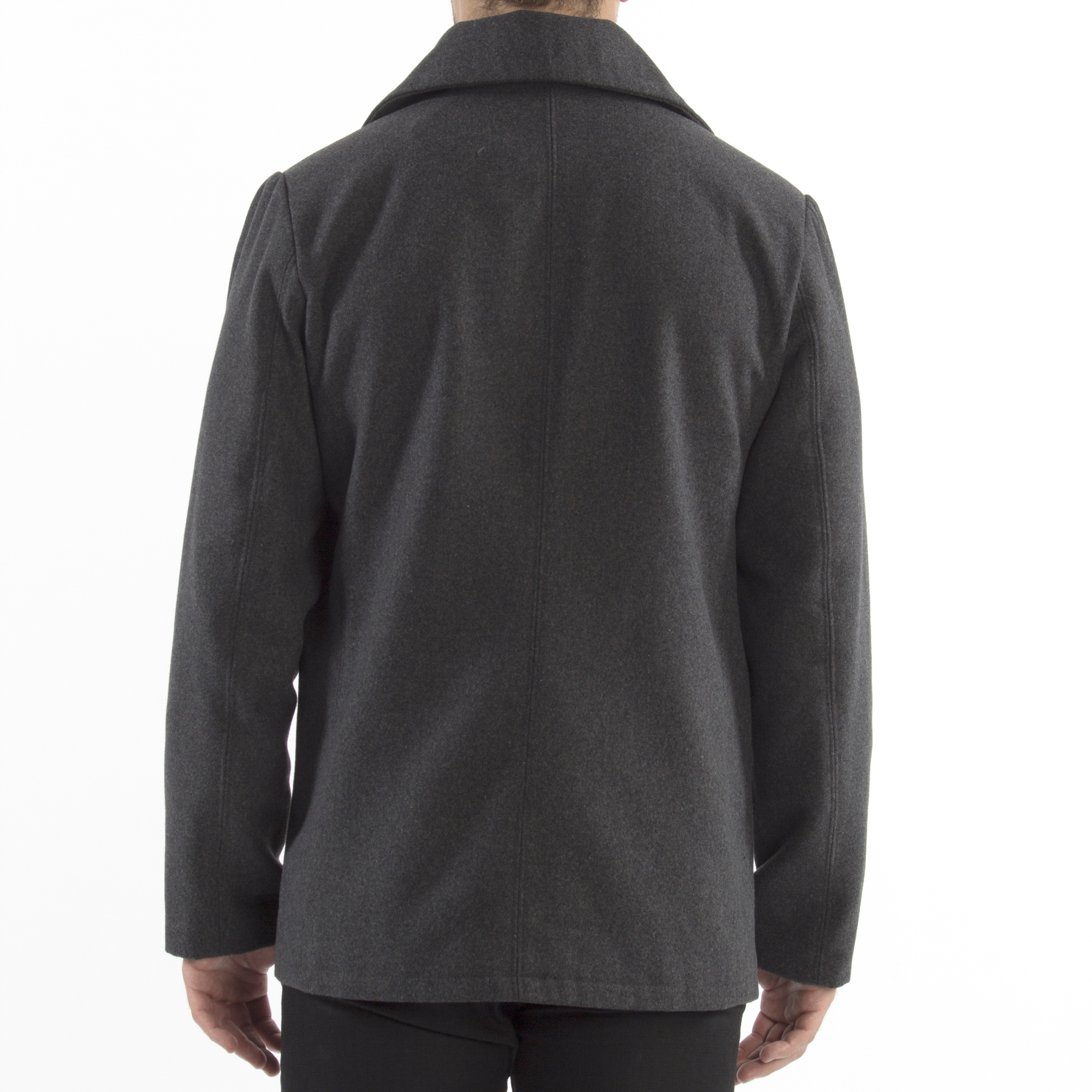 Alpine-Swiss-Mason-Mens-Wool-Blend-Pea-Coat-Jacket-Double-Breasted-Dress-Coat thumbnail 28