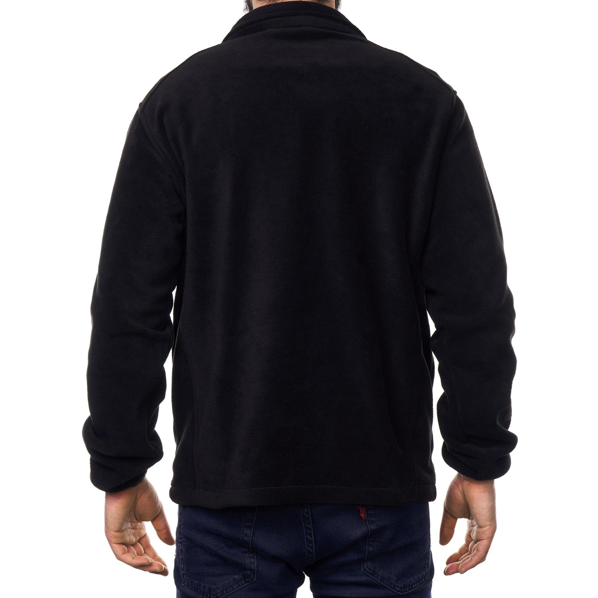 Alpine-Swiss-Trent-Mens-Full-Zip-Up-Fleece-Jacket-Soft-Casual-Warm-Zipper-Coat thumbnail 17