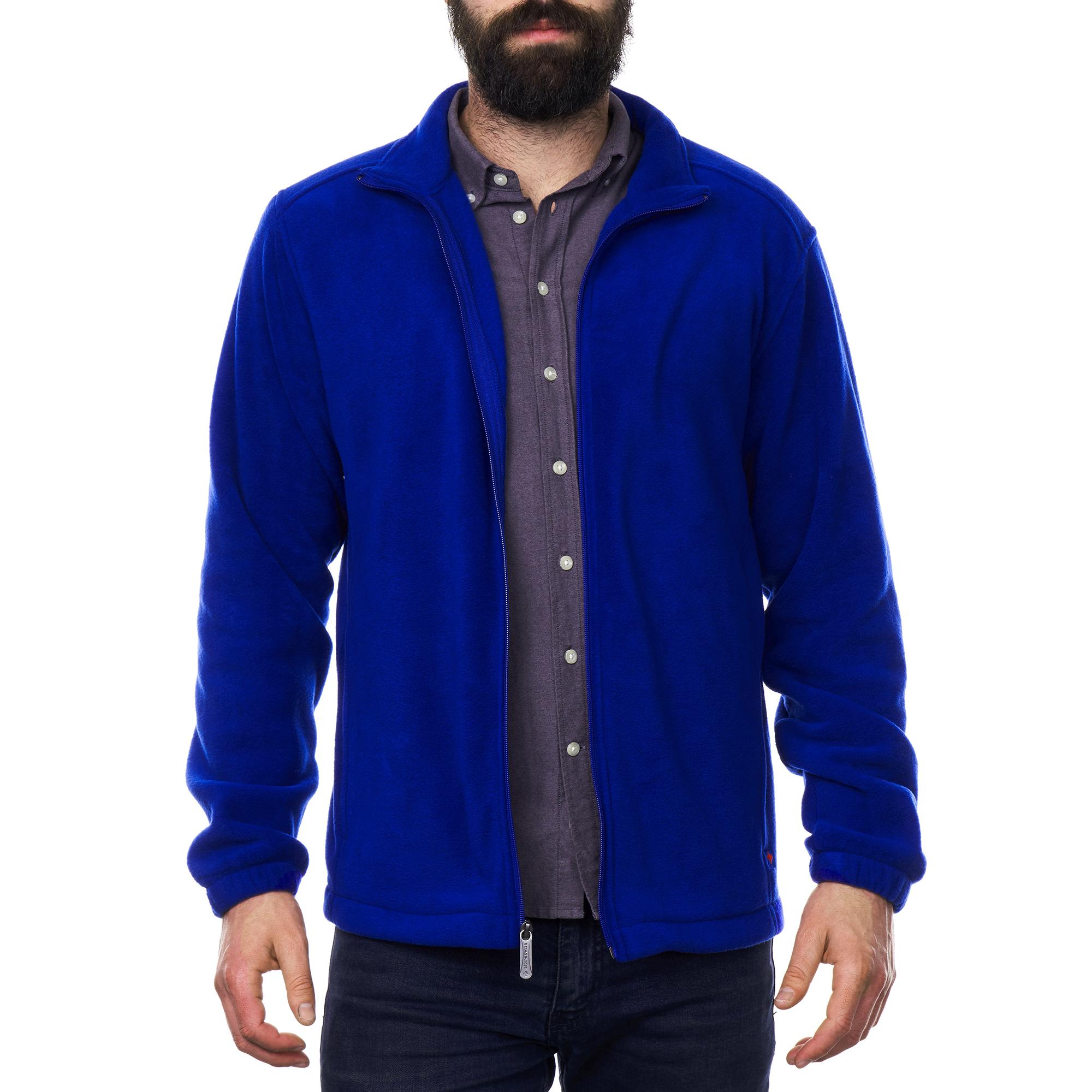Alpine-Swiss-Trent-Mens-Full-Zip-Up-Fleece-Jacket-Soft-Casual-Warm-Zipper-Coat thumbnail 22
