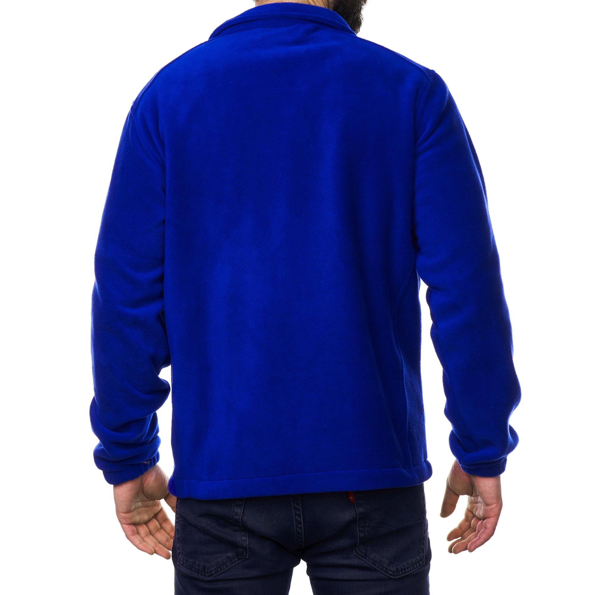 Alpine-Swiss-Trent-Mens-Full-Zip-Up-Fleece-Jacket-Soft-Casual-Warm-Zipper-Coat thumbnail 23