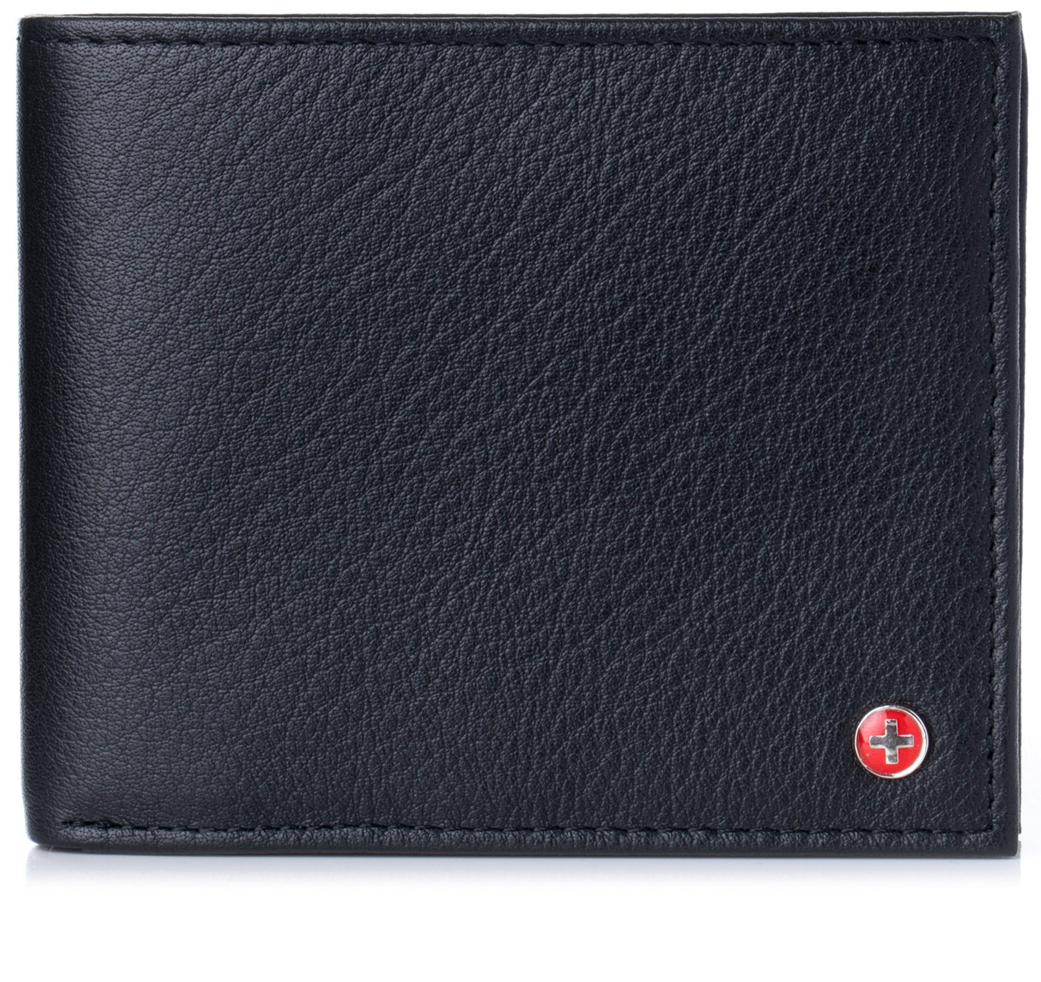 Alpine-Swiss-Mens-Wallet-Genuine-Leather-Divided-Bill-Section-Flipout-ID-Bifold thumbnail 27