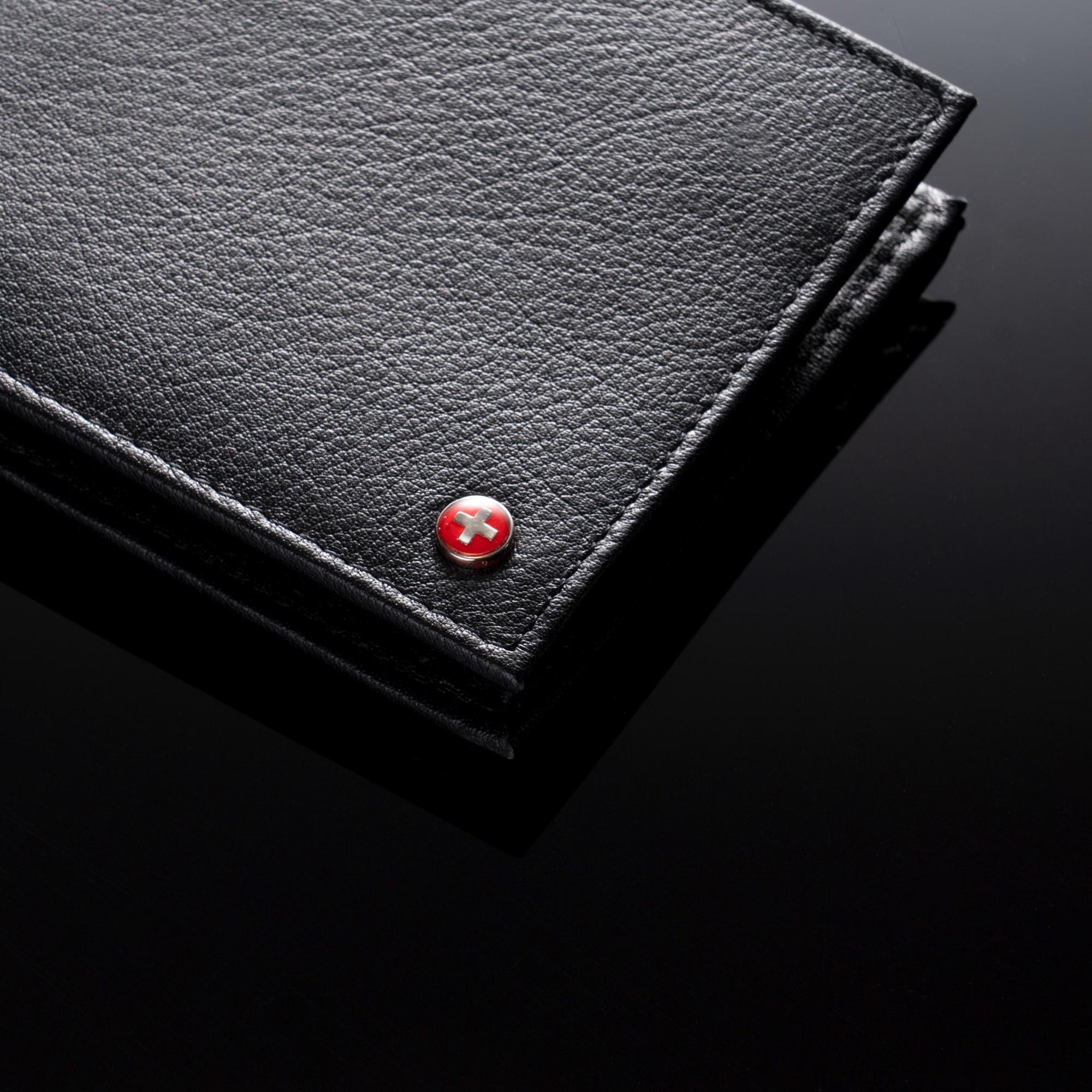 Alpine-Swiss-Mens-RFID-Blocking-Leather-Wallet-Multi-Card-High-Capacity-Bifold thumbnail 18