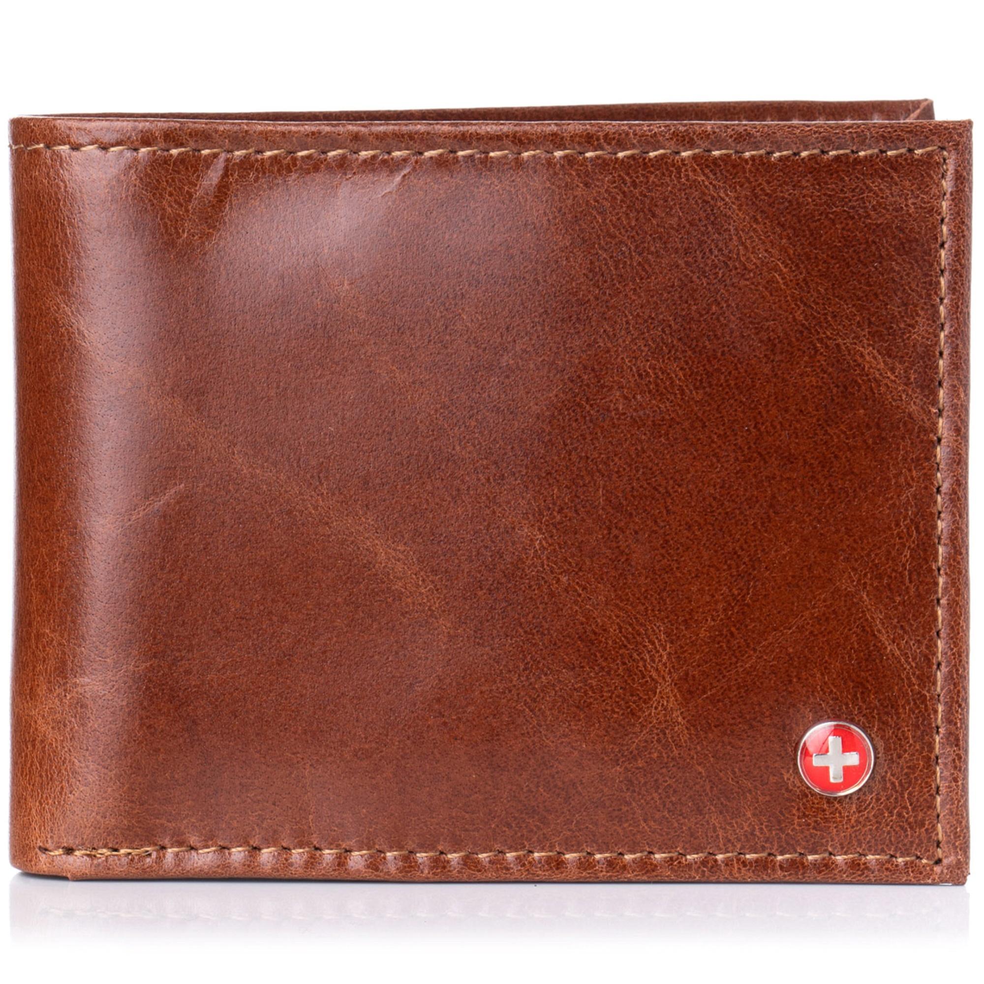 Alpine-Swiss-Mens-RFID-Blocking-Leather-Wallet-Multi-Card-High-Capacity-Bifold thumbnail 26
