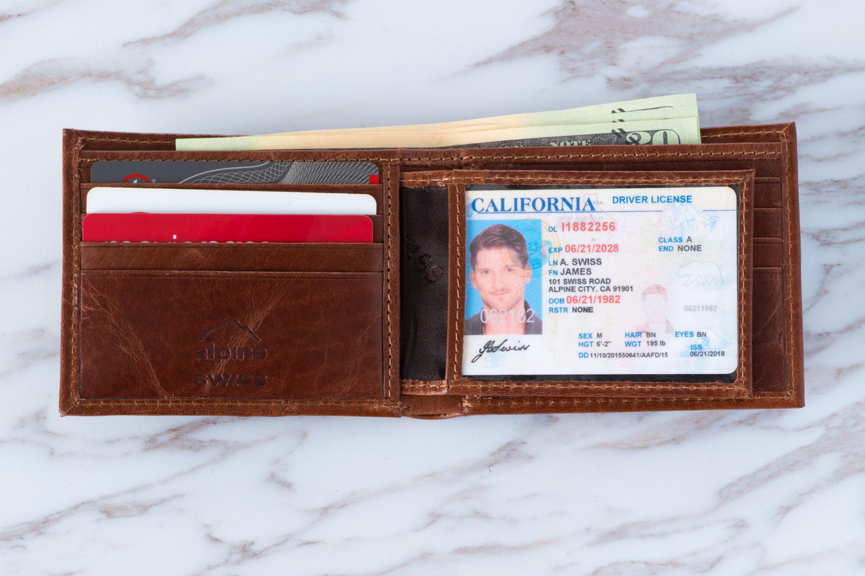 Alpine-Swiss-Mens-RFID-Blocking-Leather-Wallet-Multi-Card-High-Capacity-Bifold thumbnail 30