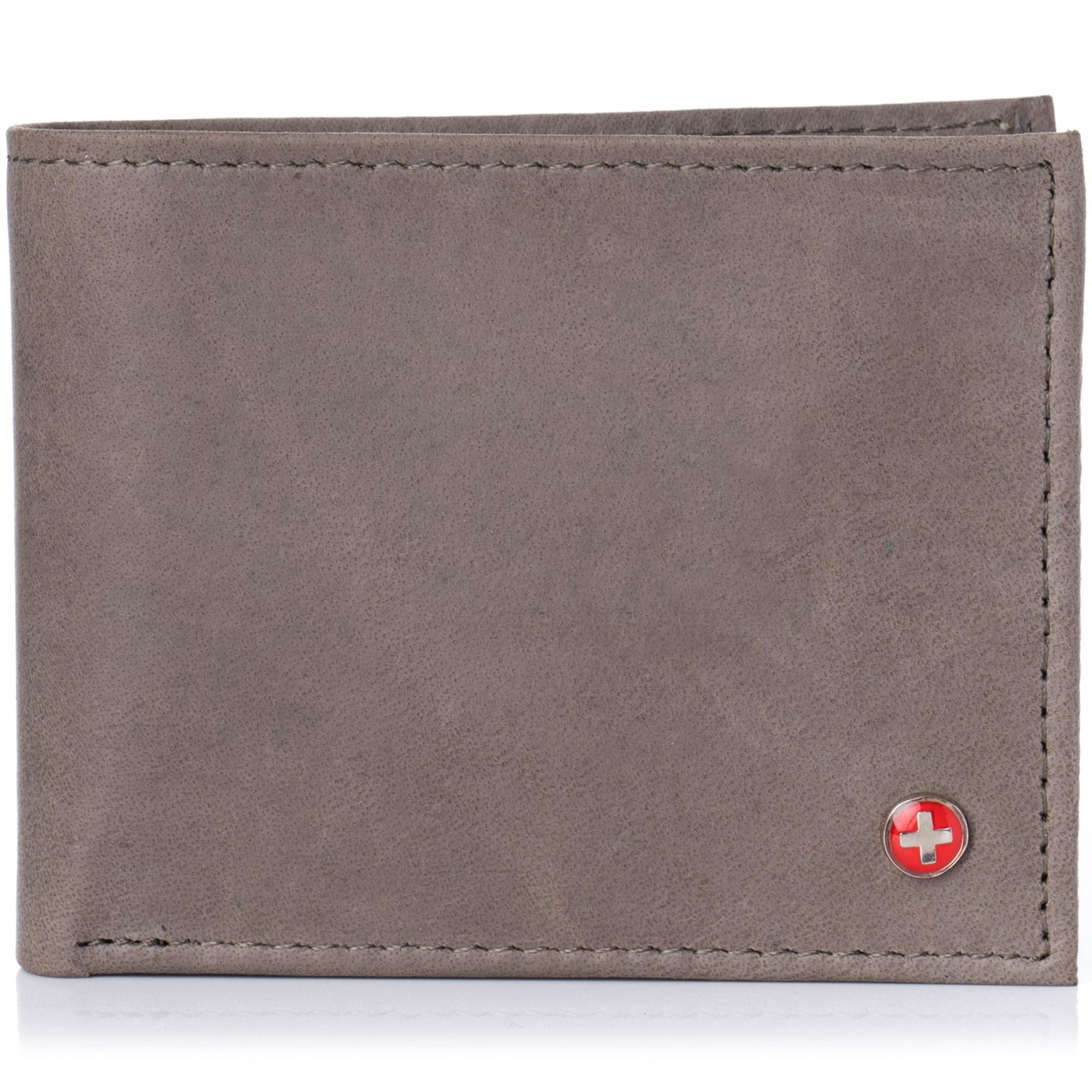 Alpine-Swiss-Mens-RFID-Blocking-Leather-Wallet-Multi-Card-High-Capacity-Bifold thumbnail 36