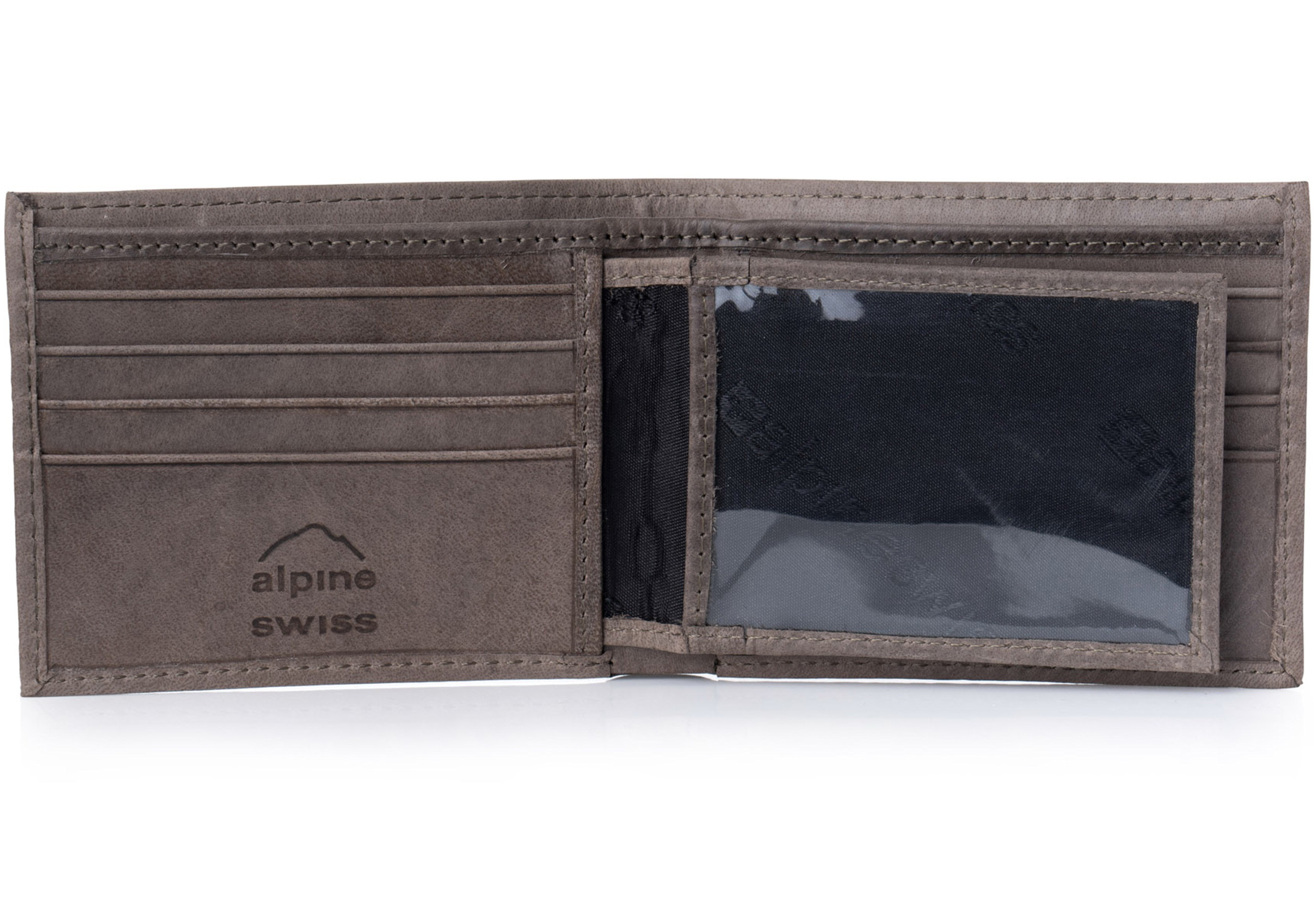 Alpine-Swiss-Mens-RFID-Blocking-Leather-Wallet-Multi-Card-High-Capacity-Bifold thumbnail 37