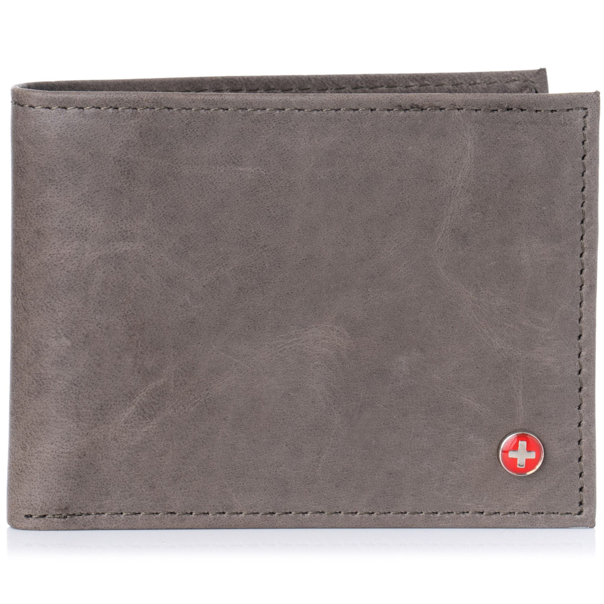 Alpine-Swiss-Mens-Wallet-Genuine-Leather-Removable-ID-Card-Case-Bifold-Passcase thumbnail 99