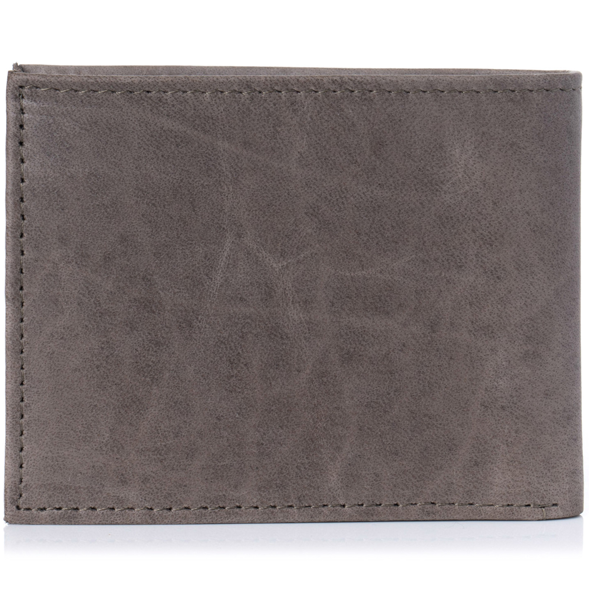 Alpine-Swiss-Mens-Wallet-Genuine-Leather-Removable-ID-Card-Case-Bifold-Passcase thumbnail 100